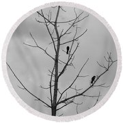 The Birds Round Beach Towel