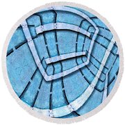 The Blue Room Round Beach Towel