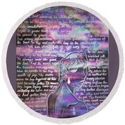 The Boy Who Lived Among The Star Round Beach Towel
