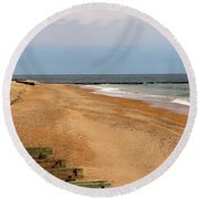 The Breakwater Round Beach Towel
