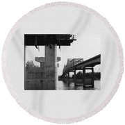 The Bridges At Whitesburg 3 Round Beach Towel