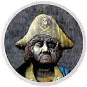 The Buccaneer Round Beach Towel