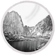 The Bugaboo Spires Round Beach Towel