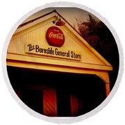 The Burnside General Store Round Beach Towel