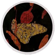 The Butterfly Effect Round Beach Towel