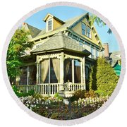 The Buttery Restaurant In Lewes Delaware Round Beach Towel