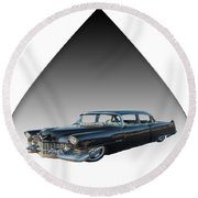 The Caddy Round Beach Towel