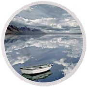 The Calm Round Beach Towel