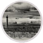 The Cape Round Beach Towel