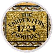 The Carpenters Company Round Beach Towel