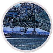 The Carriers Round Beach Towel