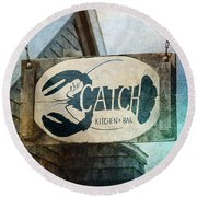 The Catch Round Beach Towel
