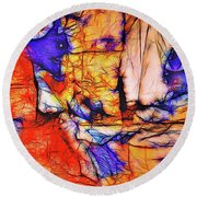 The Cats Round Beach Towel