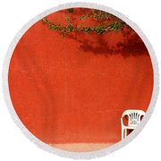 The Chair Round Beach Towel