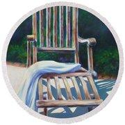 The Chair Round Beach Towel
