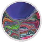 The Chalice Round Beach Towel