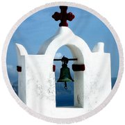 The Chapel Bell Round Beach Towel