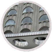 The Cheese Grater Detail Round Beach Towel
