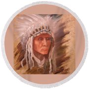 The Chief  Round Beach Towel