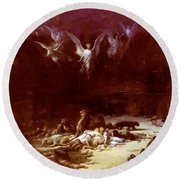 The Christian Martyrs Round Beach Towel