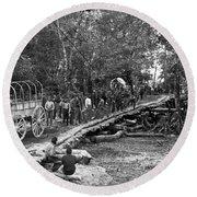 The Civil War: Soldiers Round Beach Towel