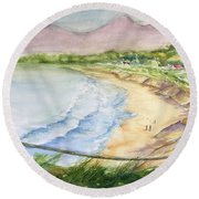 The Coast Round Beach Towel