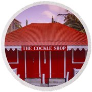 The Cockle Shop Round Beach Towel