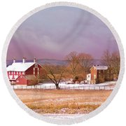 The Codori Farm Round Beach Towel