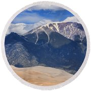 The Colorado Great Sand Dunes  125 Round Beach Towel