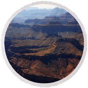 The Colorado River Round Beach Towel