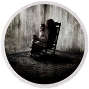 The Conjuring Round Beach Towel