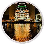 The Convention Centre Round Beach Towel