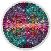 The Cosmos Crown Jewels 1 Round Beach Towel