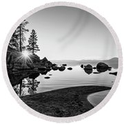 The Cove Round Beach Towel