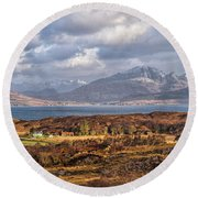 The Cuillin Round Beach Towel