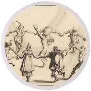 The Dance Round Beach Towel