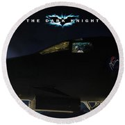 The Dark Knight 2 Round Beach Towel