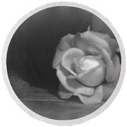 The Dark Rose Round Beach Towel