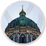 The Dome Round Beach Towel