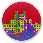 The Don Art Deco Round Beach Towel