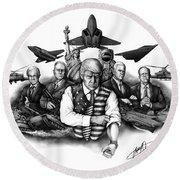 The Donald - Make America Great Again Round Beach Towel