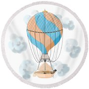 The Dreamer Round Beach Towel