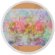 The Dreamers Round Beach Towel