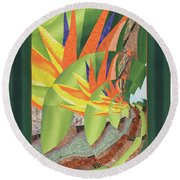 The Droste Effect Round Beach Towel