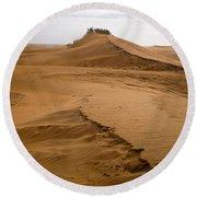The Dunes Of Maspalomas 4 Round Beach Towel