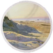 The Dunes Sonderstrand Skagen Round Beach Towel by Holgar Drachman