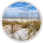 The Dunes Special Round Beach Towel