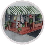 The El Camino Grill Round Beach Towel