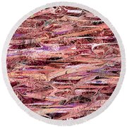 The Enchanted Marsh Round Beach Towel