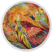 The Eternal Dance Round Beach Towel